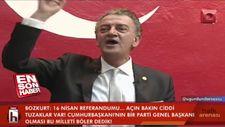 CHP'li vekil Hüsnü Bozkurt'tan küstah tehdit