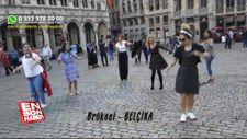 Avrupa sokaklarında Erik Dalı Gevrektir şarkısı