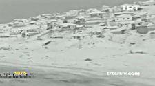 1975 Yılında Ankara'dan Kar Manzaraları