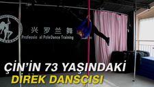 Çin'in 73 yaşındaki direk dansçısı