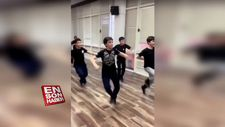 Kafkas dansı çalışan çocuklardan muhteşem performans