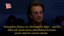Bono'dan kapitalizm mesajı