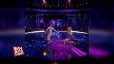 Dans yarışmasındaki koreografileri izleyenleri hayran bırakan çift