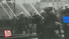 Notre-Dame Katedrali'nde 91 Yıl önce bugün yapılan yangın tatbikatı
