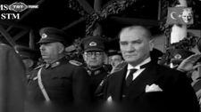 Atatürk'ün yapay zeka ile renklendirilmiş videosunun özgün hali