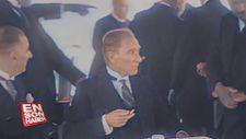 Atatürk'ün yapay zeka ile renklendirilmiş videosu