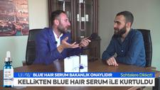 Uraw Mavi Saç Serumu