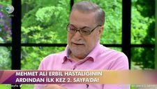 Ünlü şovmen Mehmet Ali Erbil: Fişimi çekin dedim