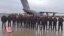 AFAD ekibi TSK'ya ait uçakla Arnavutluk'a gönderildi