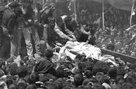 Ayetullah Humeyni'nin cenaze töreni - 1989