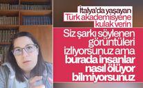 İtalya'da yaşayan Türk araştırma görevlisi son durumu anlattı
