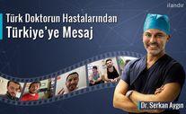 Türkiye'de Saç ektiren yabancılardan Türkçe mesaj