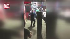Trabzon'da top yerine karpuza kafa atan adam