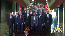 Erdoğan, Başakşehir'i kabul etti