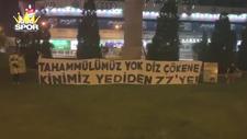 Fenerbahçelilerin Gökhan-Caner protestosu