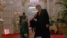 Trump'ın 'Evde Tek Başına 2' filmindeki görüntüleri