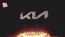 Kia, yeni logosunu gökyüzüne yazdı