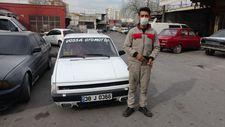 Kayserili oto tamircisi Tofaş'ını, cep telefonu ile yönetebiliyor
