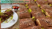 Soğuk sütlü baklava tarifi