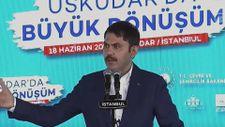 Murat Kurum, Üsküdar'da 5 bin Yeni Konut Projesi'nin törenine katıldı