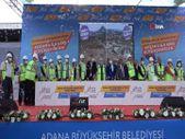 Adana'da kreş için dikkat çeken temel atma töreni