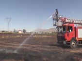 Elazığ'da 100 dönüm ekili alan yandı