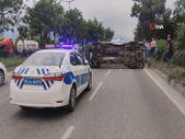 Bursa'da ambulans ile otomobil çarpıştı: 4 yaralı