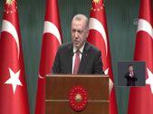 Cumhurbaşkanı Erdoğan'dan Kabine sonrası açıklama