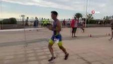 İspanya'da atlet, kazandığını sandığı yarışı son anda kaybetti
