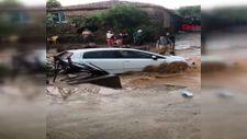 İzmir'de sağanak yağmur Ödemiş'in kırsal mahallelerini vurdu