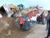 Nevşehir'de toprak kayması sonucu 58 koyun telef oldu