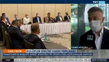 Ahmet Ağaoğlu: Transferlerimizi yabancı kuralına göre yaptık