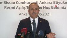 Çavuşoğlu, Gine Bissau'nun Ankara Büyükelçiliği'nin açılış törenine katıldı