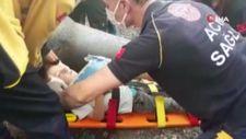 Kocaeli'nin kanalizasyon borusuna sıkışan çocuk kurtarıldı