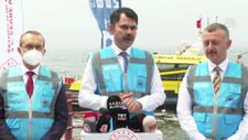 Murat Kurum: Bugüne kadar 5 bin 306 metreküp müsilaj toplandı