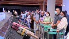 Rus turistler aylar sonra Türkiye'de