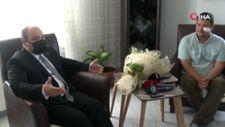 Mustafa Varank'tan saldırıya uğrayan İHA muhabirine ziyaret