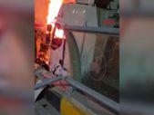 Van'da seyir halindeki tır yandı
