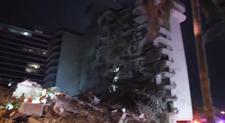 ABD'de 12 katlı bina kısmen çöktü