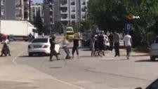 Antalya'da kürek saplı, bijon anahtarlı, tüfekli kavga