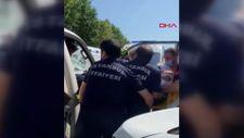 Sultangazi'de epilepsi krizi geçiren sürücü kaza yaptı