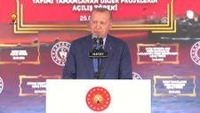 Cumhurbaşkanı Erdoğan, Hatay'da toplu açılış törenine katıldı