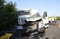 Elazığ'da düğün yolunda kaza