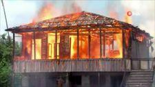Gürcistan'da tecavüzle suçlanan baba-oğulun evi yakıldı