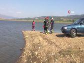Manisa'da serinlemek için girdiği baraj gölünden çıkamadı