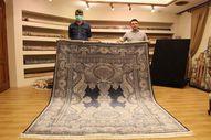 Nevşehir'de, 6 metrekare olan ipek halı 800 bin liradan satılıyor