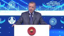 Erdoğan: Kanal İstanbul şehrin geleceğini kurtaracak