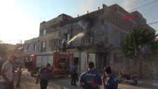 Kilis'te, boşanma aşamasında olan kadın evini ateşe verdi