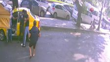 Zonguldak'ta kavga anı güvenlik kamerasına yansıdı