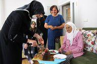 Amasyalı Şeker Nine 120'nci yaşını kutladı